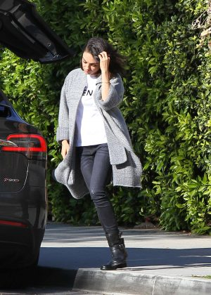 Mila Kunis out in Los Angeles