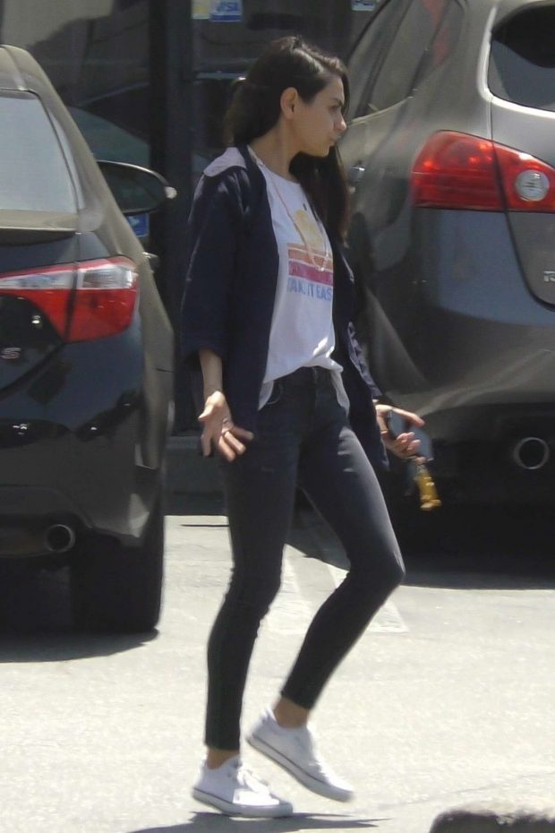 Mila Kunis: Out in Studio City -05