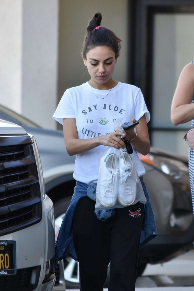 Mila Kunis - Out in Studio City