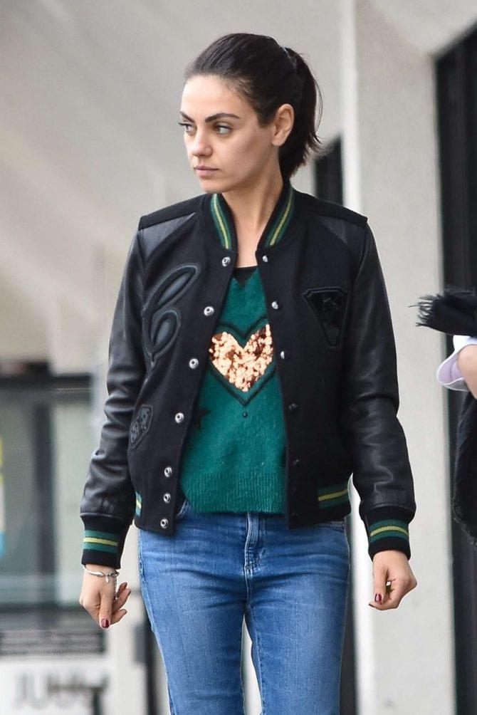 Mila Kunis - Out in Studio City