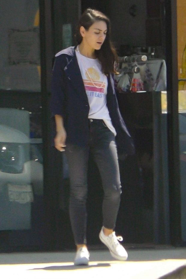 Mila Kunis: Out in Studio City -12