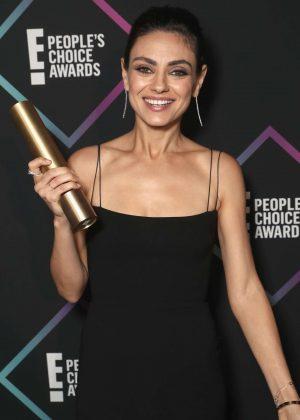 Mila Kunis - People's Choice Awards 2018 in Santa Monica