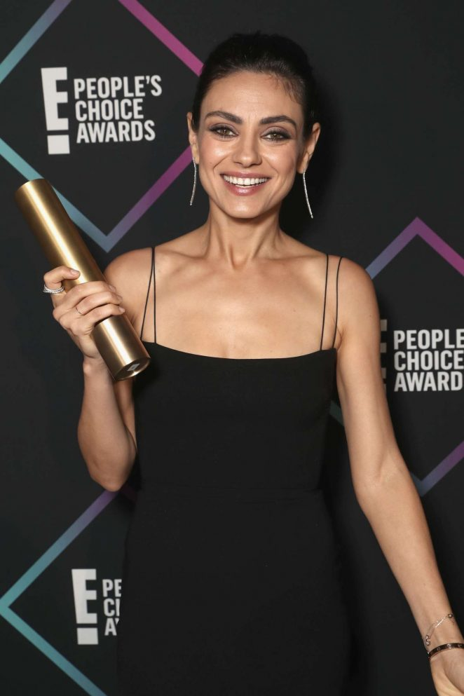 Mila Kunis – People's Choice Awards 2018 in Santa Monica