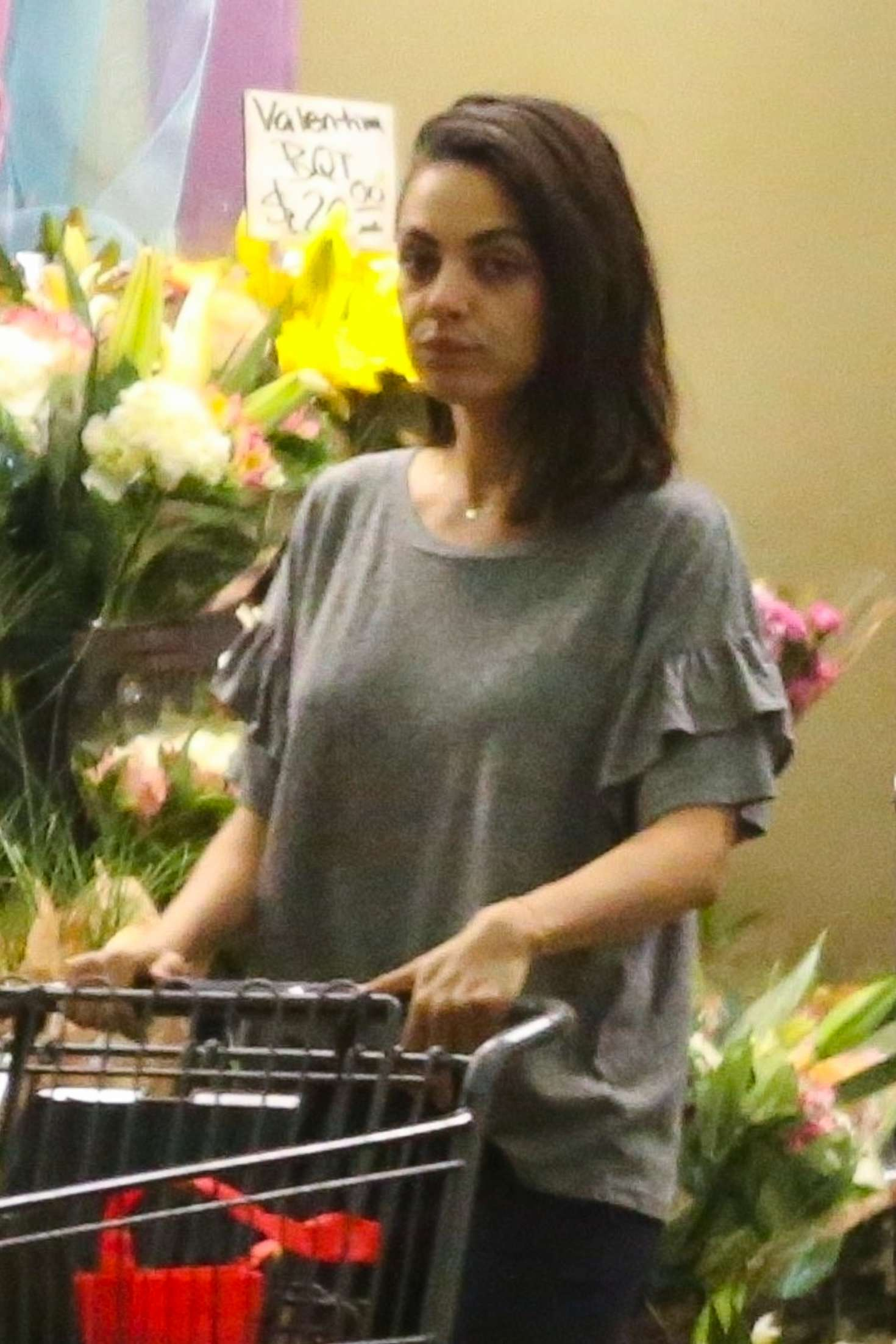 Mila Kunis s- Shopping at Whole Foods in Beverly Hills