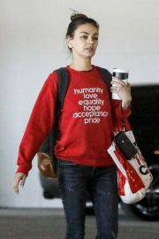 Mila Kunis - Shopping at Target in West Hollywood