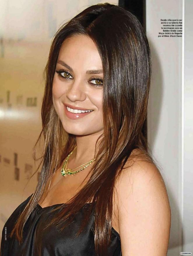 Mila Kunis - Vanidades Mexico Magazine (February 2015)