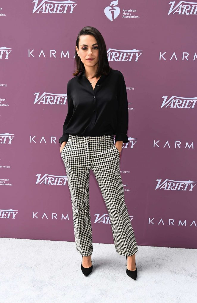 Mila Kunis - Variety's Path to Parity Summit in West Hollywood