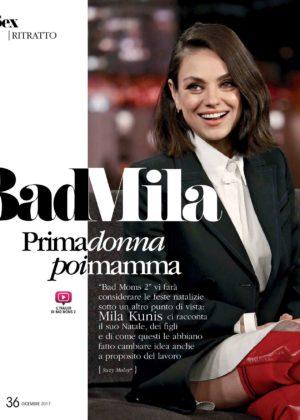 Mila Kunis - Voila Magazine (December 2017)