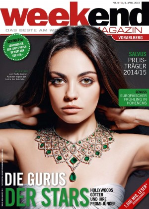 Mila Kunis - Weekend Magazin Cover (April 2015)