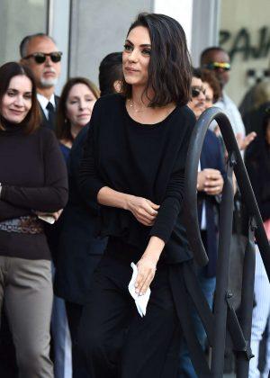 Mila Kunis - Zoe Saldana Star on the Hollywood Walk of Fame in Los Angeles