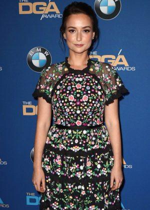 Milana Vayntrub - Directors Guild Of America Awards in Beverly Hills