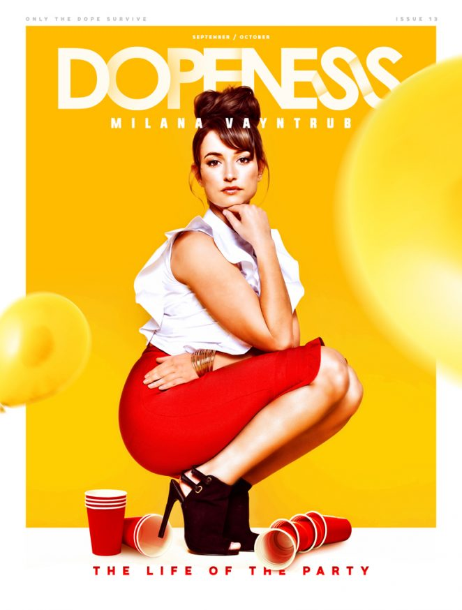 Milana Vayntrub - Dopeness Magazine (September October 2016)