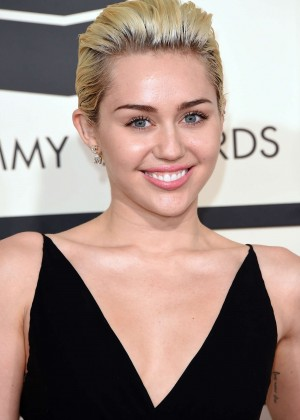 Miley Cyrus - GRAMMY Awards 2015 in Los Angeles