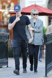 Miley Cyrus and Cody Simpson - Out in Calabasas