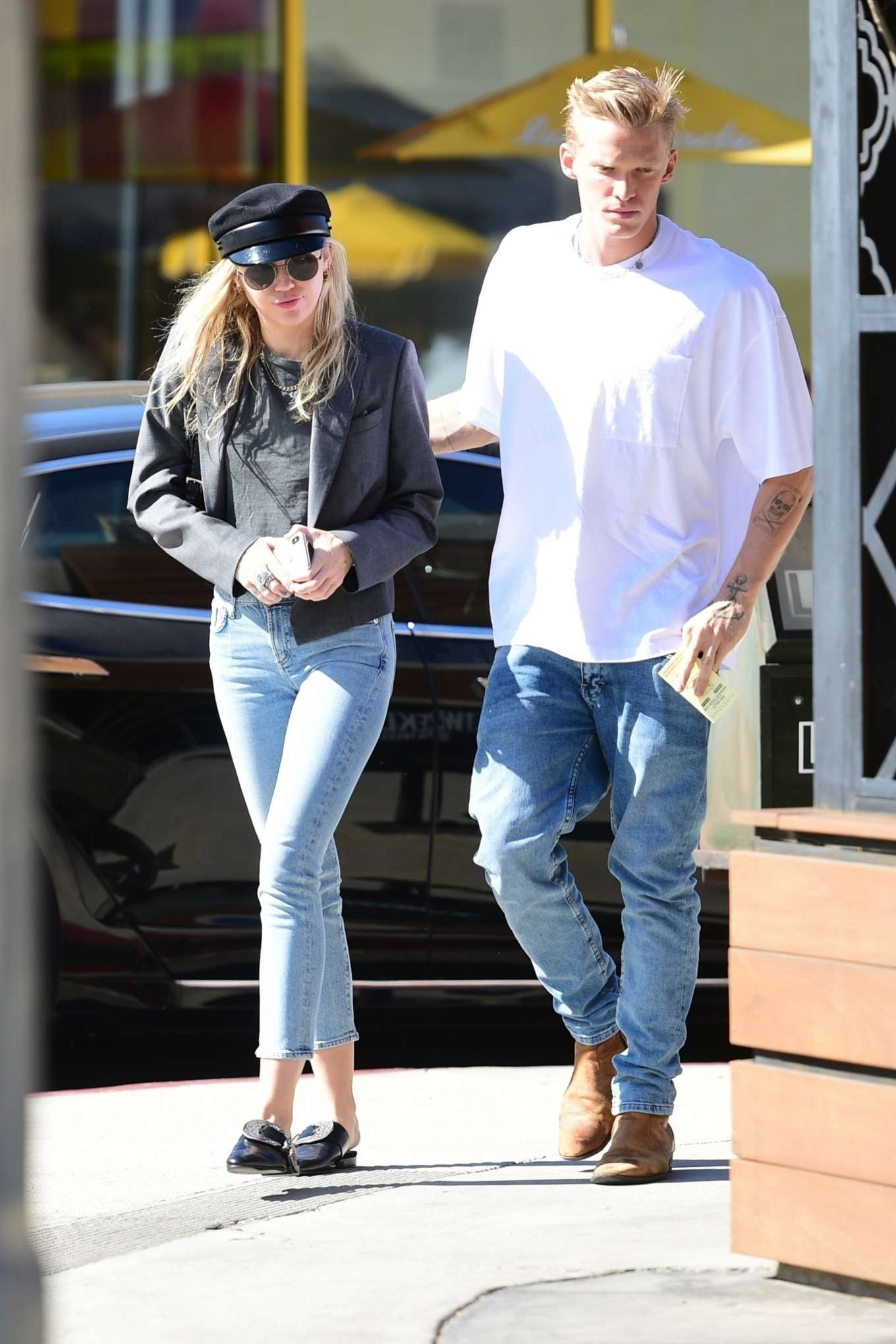 Miley Cyrus and Cody Simpson - Out in Los Angeles