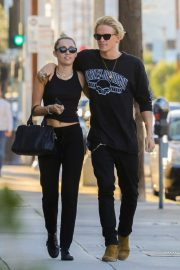 Miley Cyrus and Cody Simpson - Out in Malibu