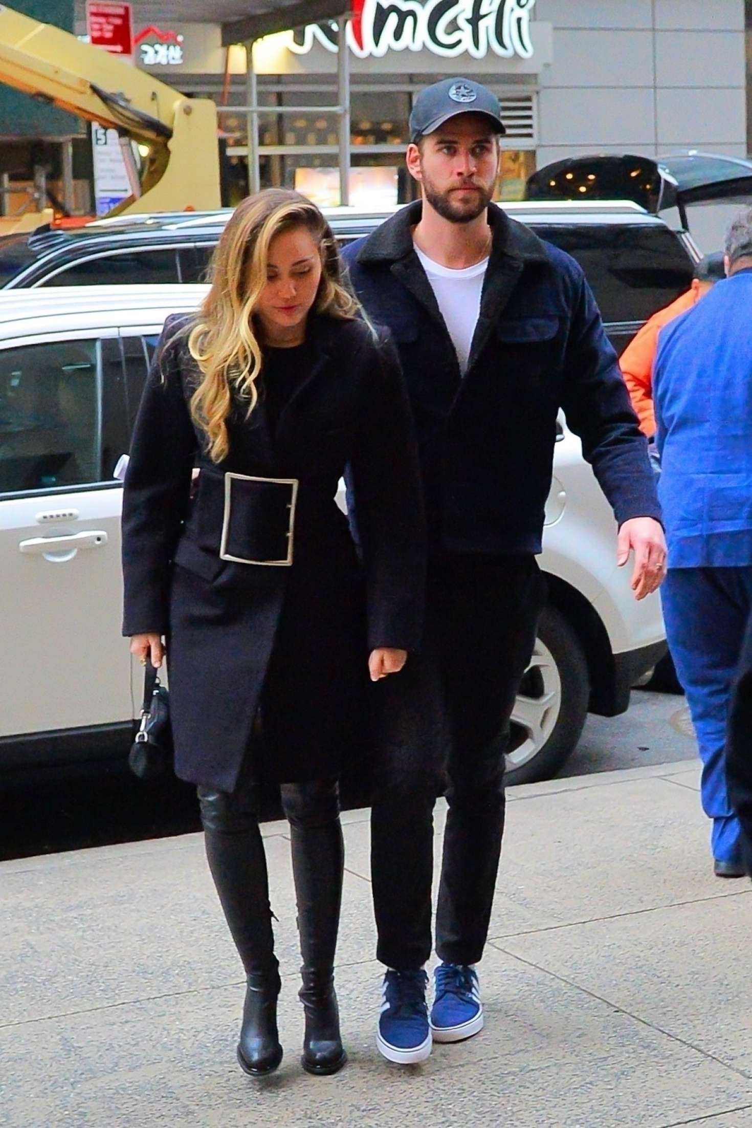 Miley Cyrus and Liam Hemsworth – Out in New York City
