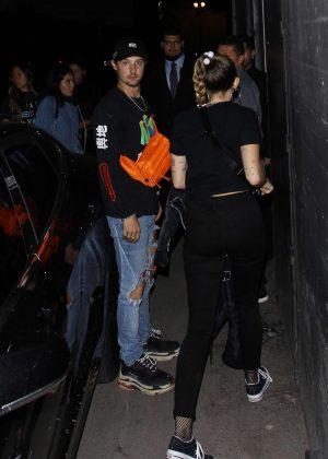 Miley Cyrus - Arriving at Noah Concert in LA