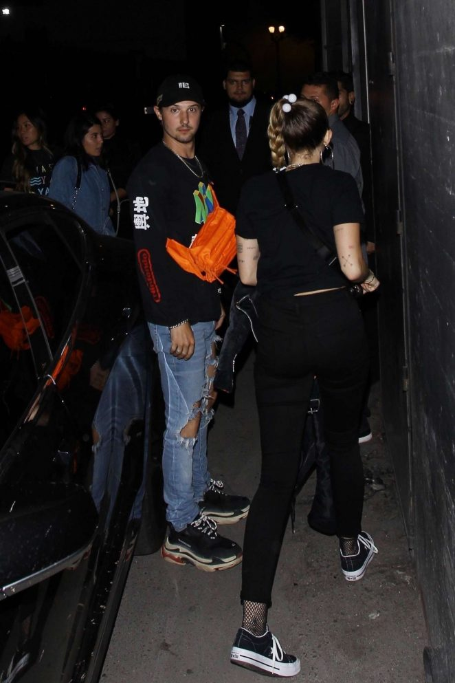 Miley Cyrus - Arriving at Noah Concert in LA
