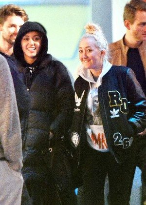 Miley Cyrus at Disneyland in Anaheim