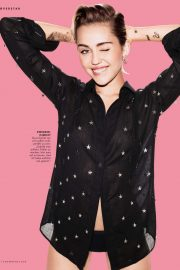 Miley Cyrus - Cosmopolitan Magazine - October 2019