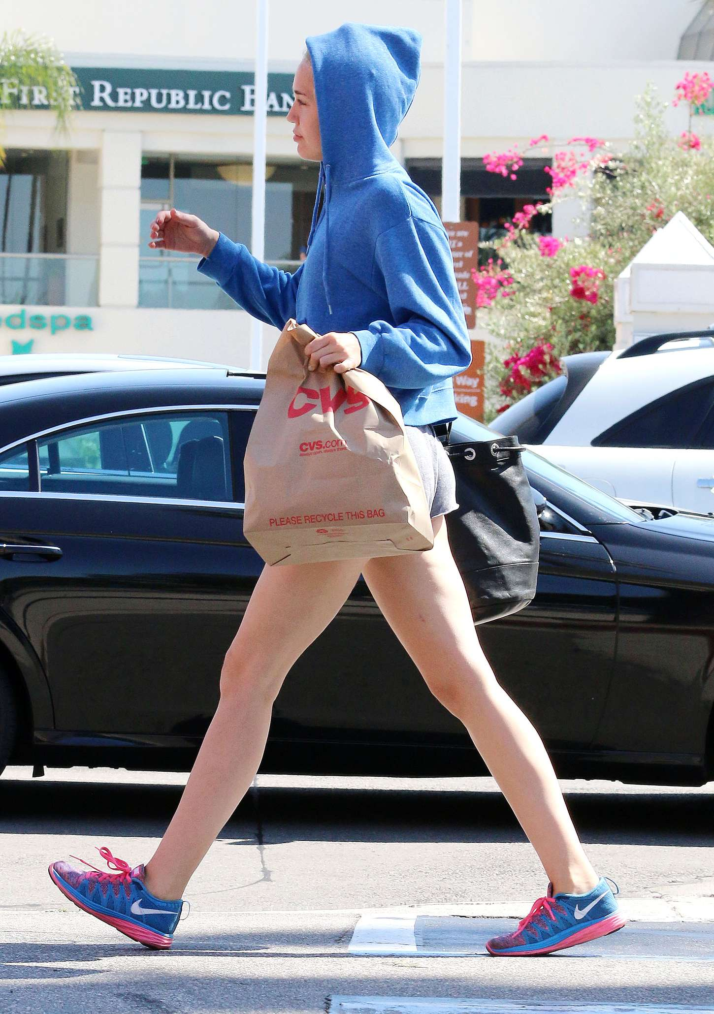 Miley Cyrus Booty in Shorts -25 - GotCeleb