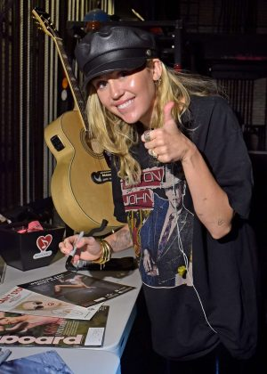 Miley Cyrus - Delta Airlines Celebrates 2018 GRAMMY Weekend Event in NYC