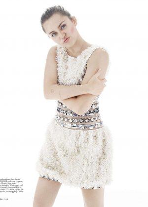 Miley Cyrus – Elle Magazine (October 2016) adds  Miley Cyrus