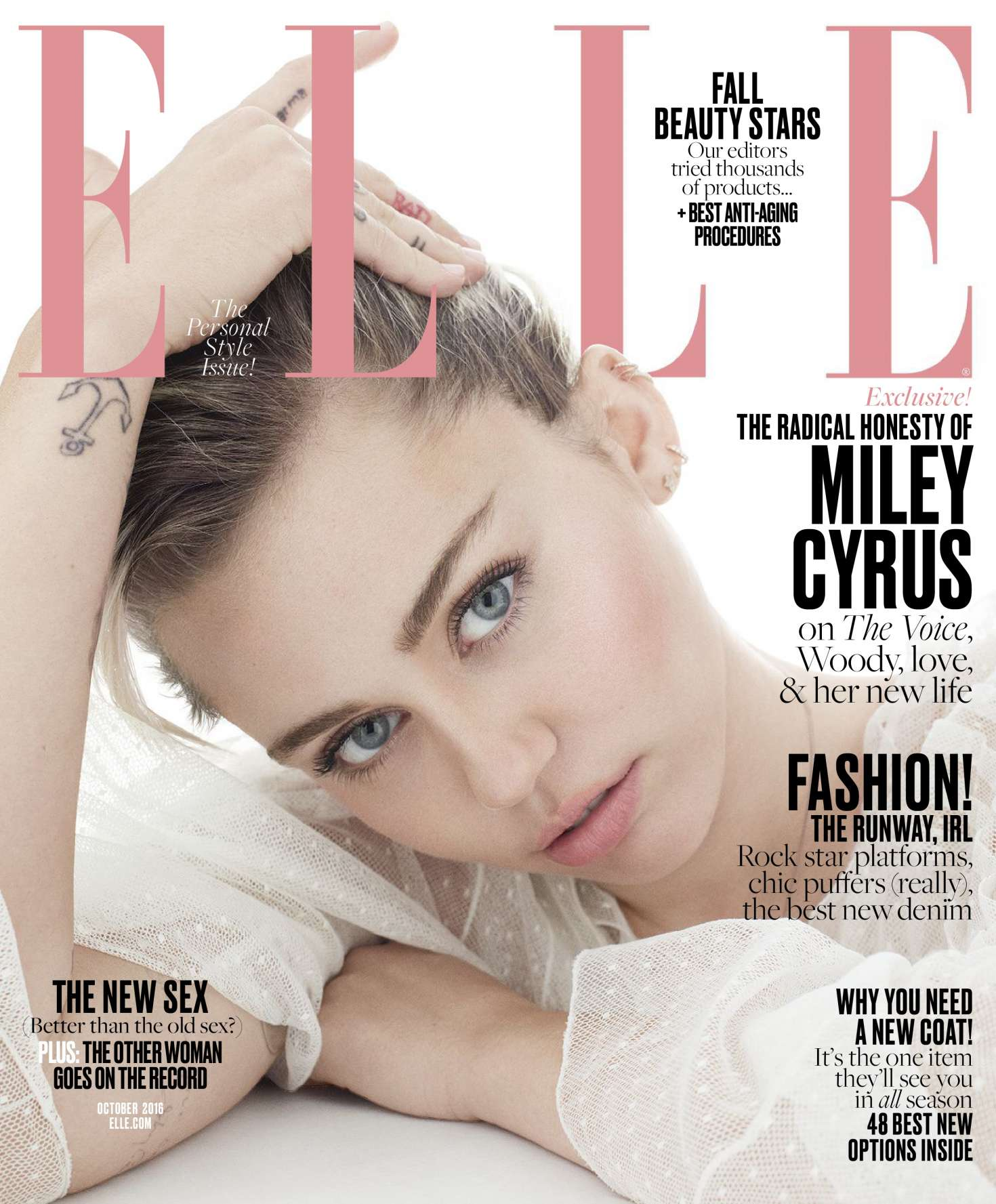 Miley Cyrus 2016 : Miley Cyrus: Elle Magazine 2016 -02