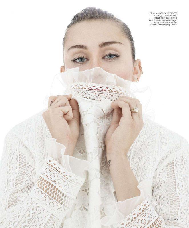 Miley Cyrus 2016 : Miley Cyrus: Elle Magazine 2016 -16