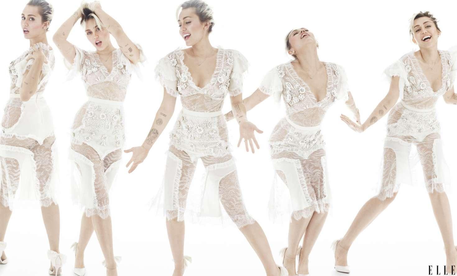 Miley Cyrus 2016 : Miley Cyrus: Elle Magazine 2016 -17