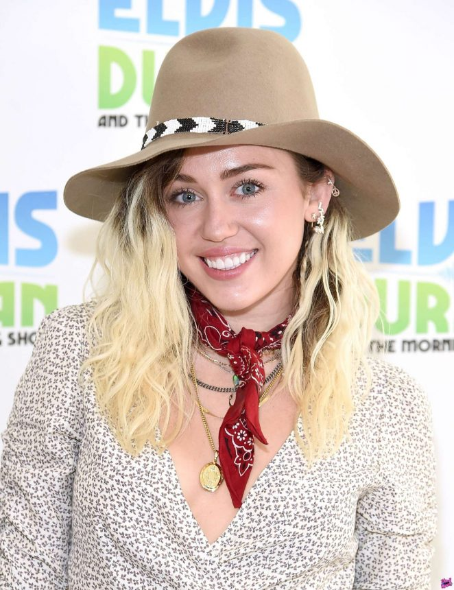 Miley Cyrus - Elvis Duran Z100 Morning Show in NYC