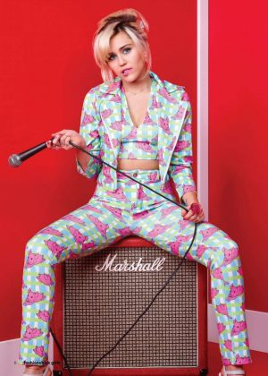 Miley Cyrus - Fashionchick Girls Magazine (March 2018)