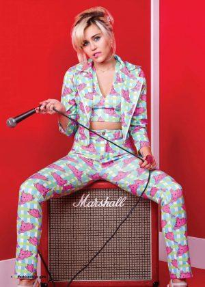 Miley Cyrus - Fashionchick Girls Magazine (March 2018)