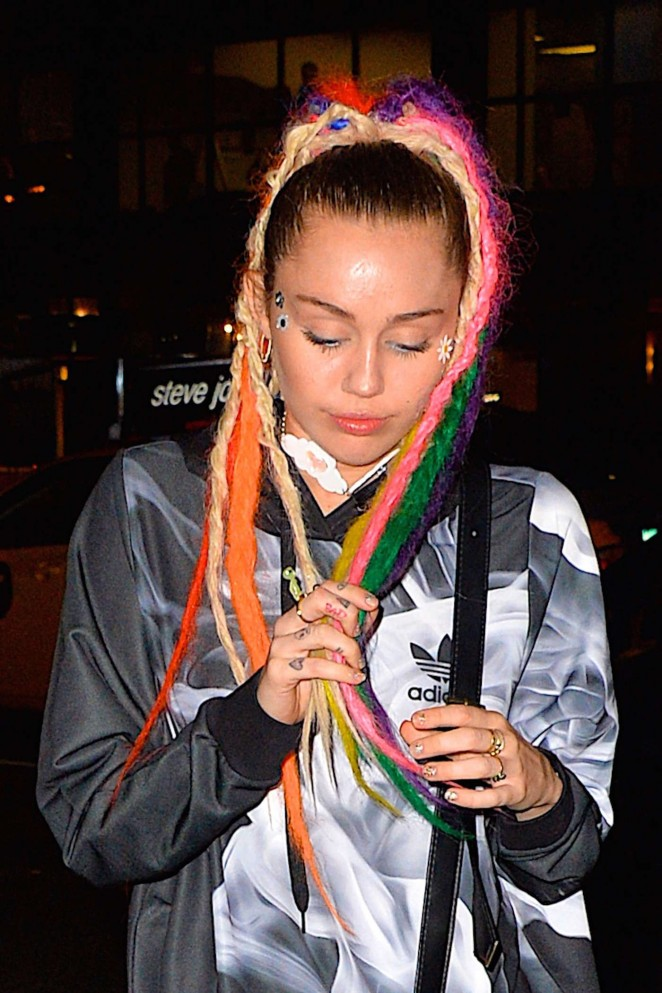 Miley Cyrus – Going to party at Soho House in NY