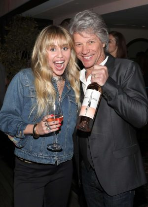 Miley Cyrus - Hampton Water Rose Celebrates LA Launch in West Hollywood