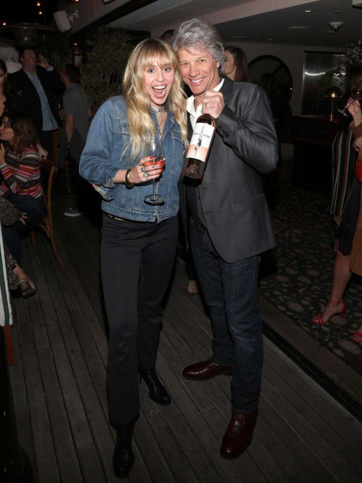 Miley Cyrus: Hampton Water Rose Celebrates LA Launch -06