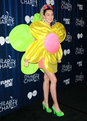 Miley Cyrus - Hilarity for Charity's Annual Variety Show: James Franco's Bar Mitzvah in LA