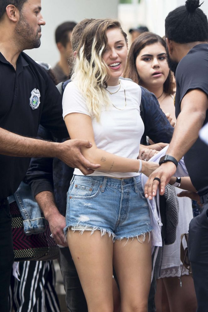 Miley Cyrus - iHeartSummer '17 Weekend at Fountain Blue hotel in Miami Beach