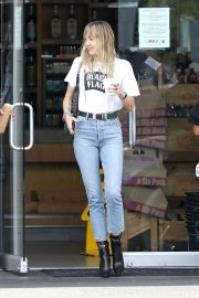 Miley Cyrus in Jeans - Out in Los Angeles