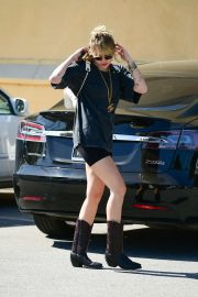 Miley Cyrus in Shorts - Out in Los Angeles