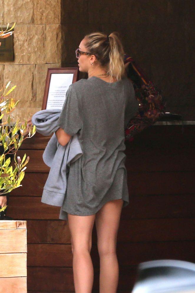 Miley Cyrus - Leaving Soho House in LA