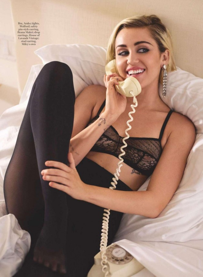 Miley Cyrus - Marie Claire UK (January 2016)