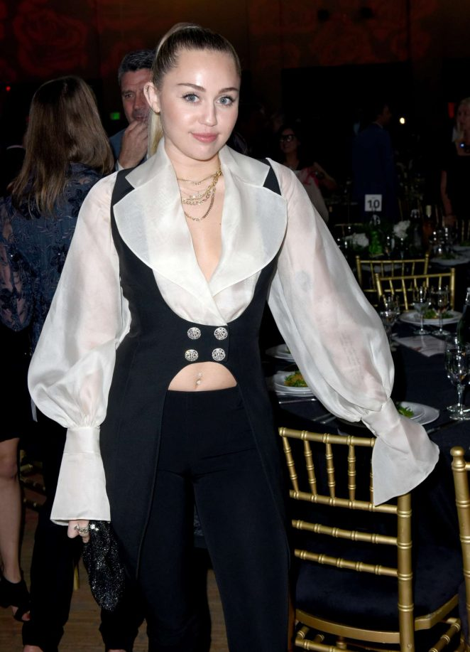 Miley Cyrus - My Friend's Place 30th Anniversary Gala in Los Angeles