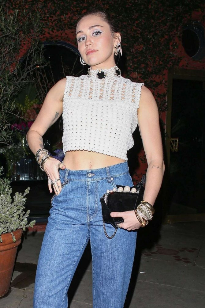 Miley Cyrus - Out and about in Silverlake