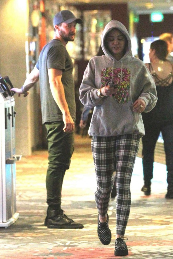 Miley Cyrus out in Studio City -10
