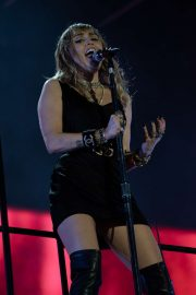 Miley Cyrus - Performs at BBC Radio 1 Big Weekend in Middlesborough