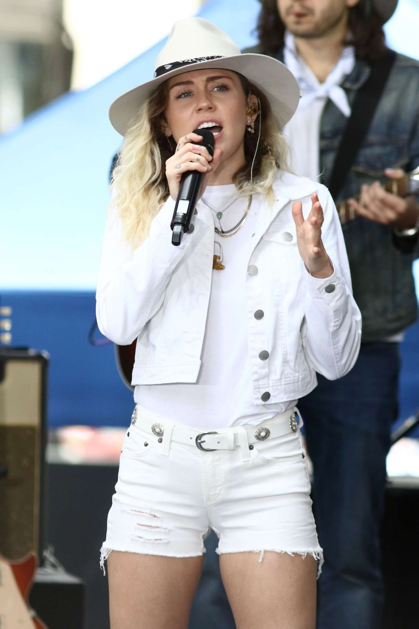 Miley Cyrus Performs Live At The NBC 'Today' Show In New York