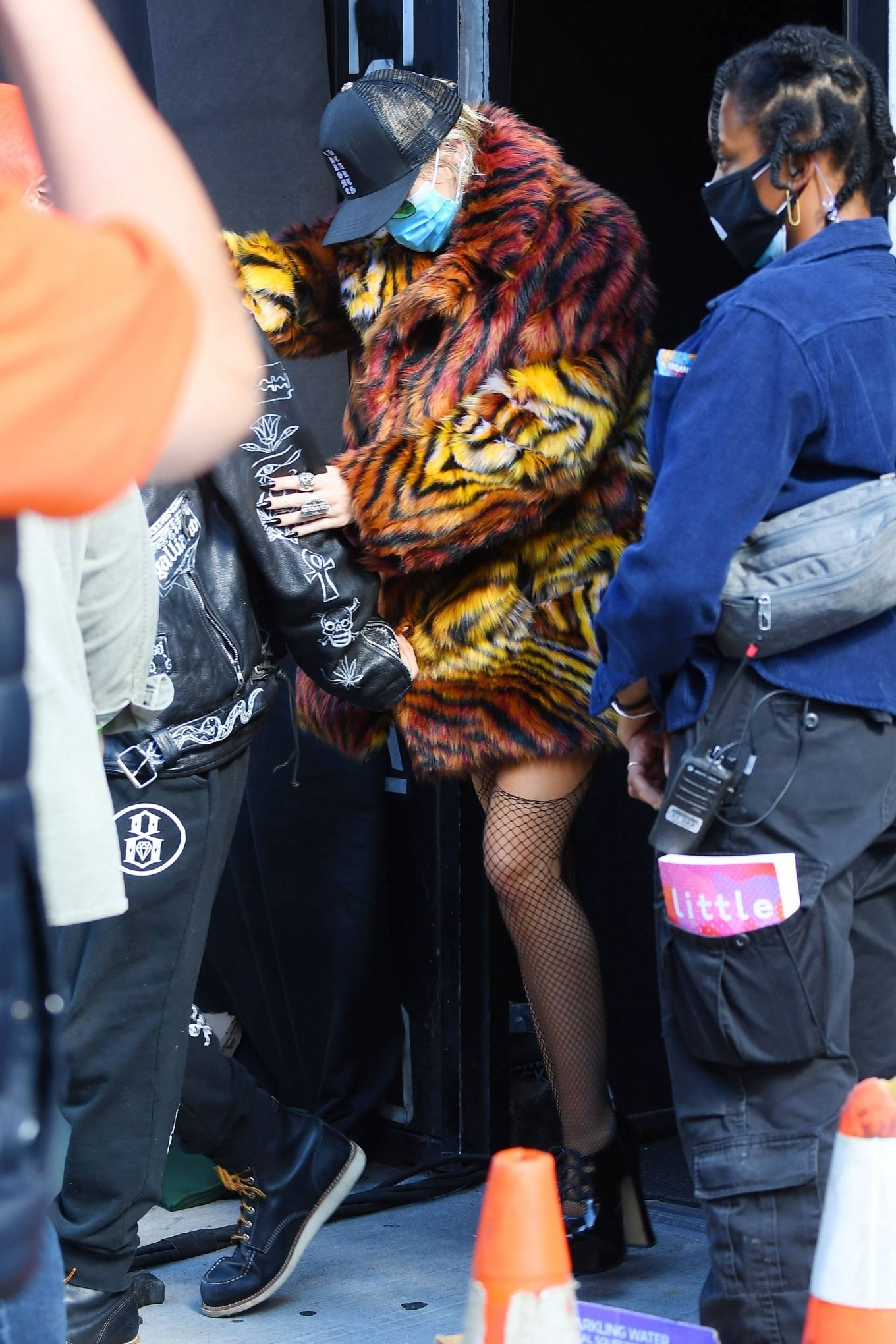 Miley Cyrus - seen out in New York City