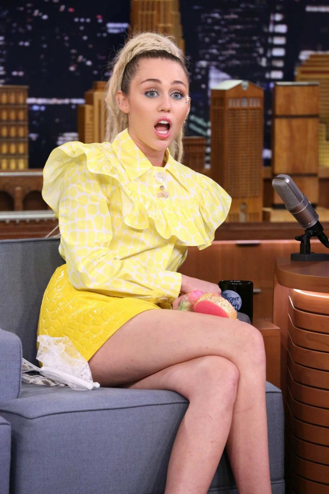 Miley Cyrus – 'The Tonight Show Starring Jimmy Fallon' in NY
